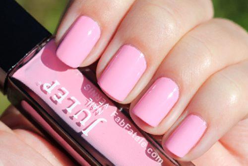 14 pretty and chic ροζ νυφικό μανικιούρ προτάσεις
