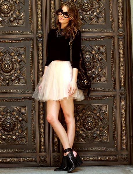 Πως να δημιουργήσετε όμορφα looks με τούλινη φούστα