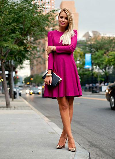 Think pink στο καθημερινό στυλ ακόμα και το χειμώνα