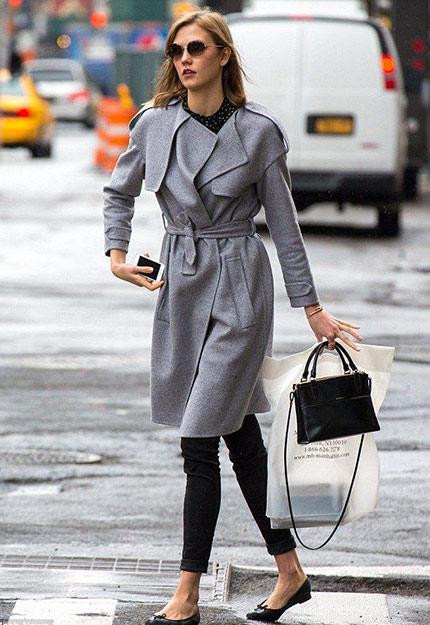 Πως φορούν οι fashionistas τα γκρι πανωφόρια