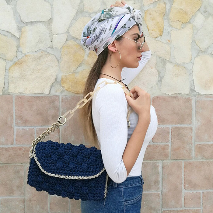 Miss Polyplexi: οι πιο κομψές χειροποίητες πλεκτές τσάντες