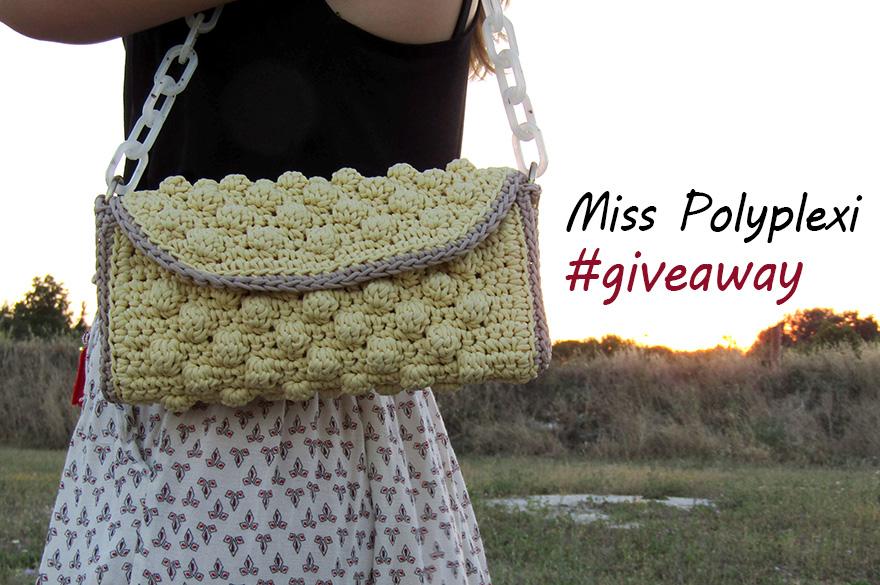 Miss Polyplexi giveaway: κερδίστε μια χειροποίητη πλεκτή τσάντα
