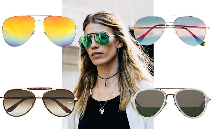 Aviator γυαλιά ηλίου: γιατί όλοι τα προτιμούν φέτος