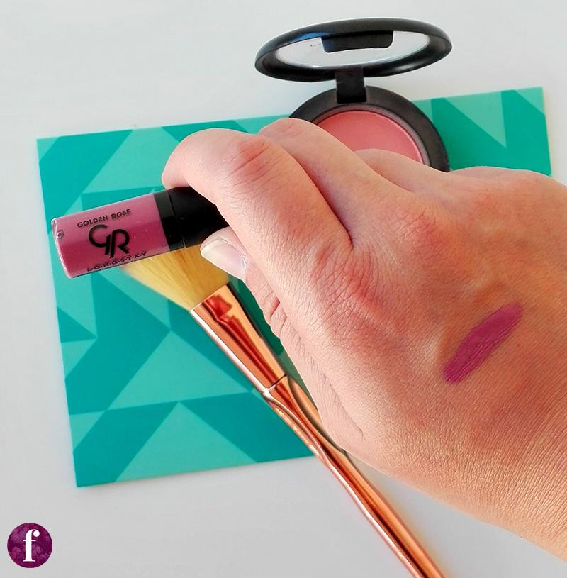 Το καλύτερο οικονομικό κραγιόν: golden rose mini liquid lipstick review