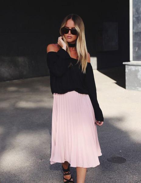 Πλισέ φούστα: πως να τη φορέσετε όπως οι fashionistas