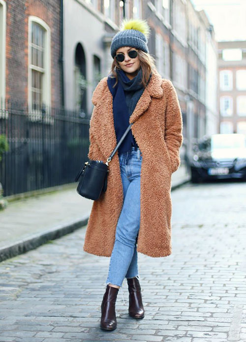 Teddy coat: το πιο μοδάτο γυναικείο πανωφόρι του χειμώνα