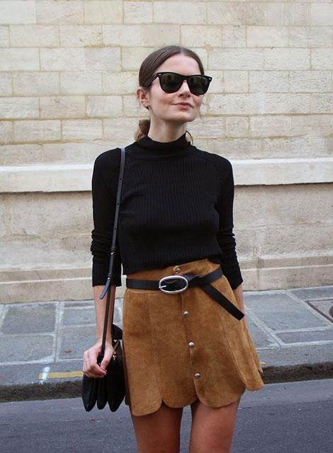 8 συνδυασμοί με φούστα για καθημερινές χειμερινές εμφανίσεις