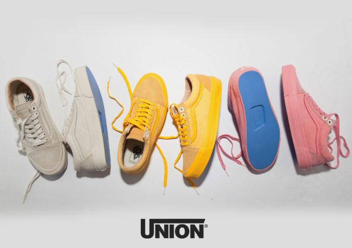 5a384ce0341 Νέα Vans Old Skool X Union στα πιο μοδάτα χρώματα της σεζόν
