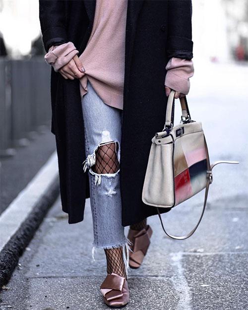 Διχτυωτό καλσόν στα πιο cool looks: πως θα το φορέσεις