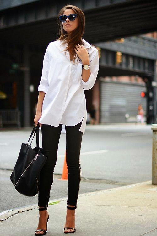Τζιν με λευκό πουκάμισο το διαχρονικό ντύσιμο για κάθε ηλικία