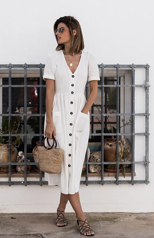 Casual καλοκαιρινό ντύσιμο αντλώντας street style έμπνευση