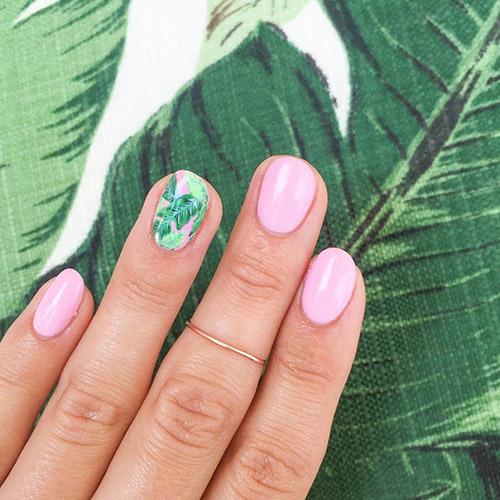 Tropical nails η τάση στο μανικιούρ που μας ταξιδεύει